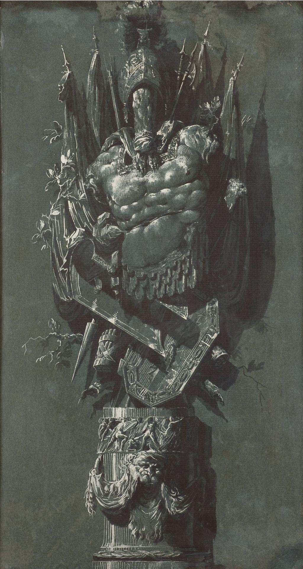 Roman military trophy, Luis Paret y Alcázar