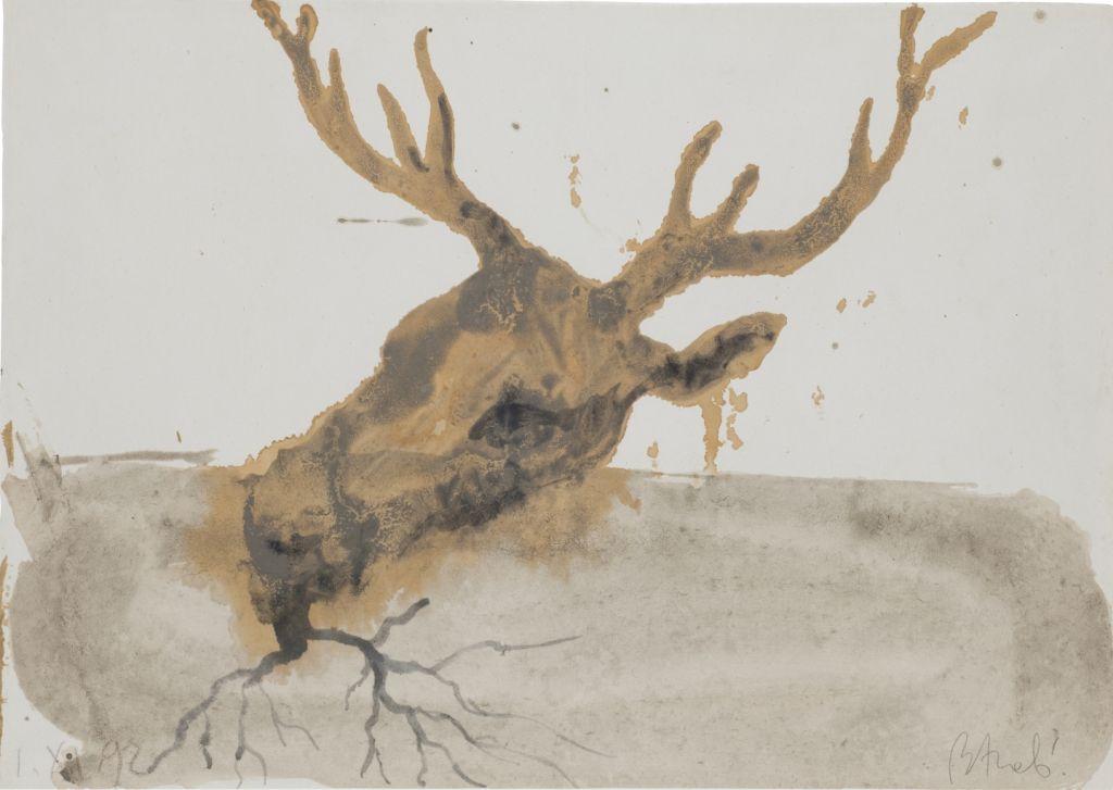 Miquel Barceló, Cabeza de ciervo