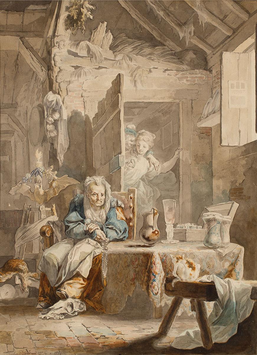 La Celestina y los enamorados, Luis Paret y Alcázar