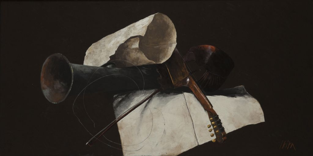 Pierre Skira, Nature morte aux instruments de musique