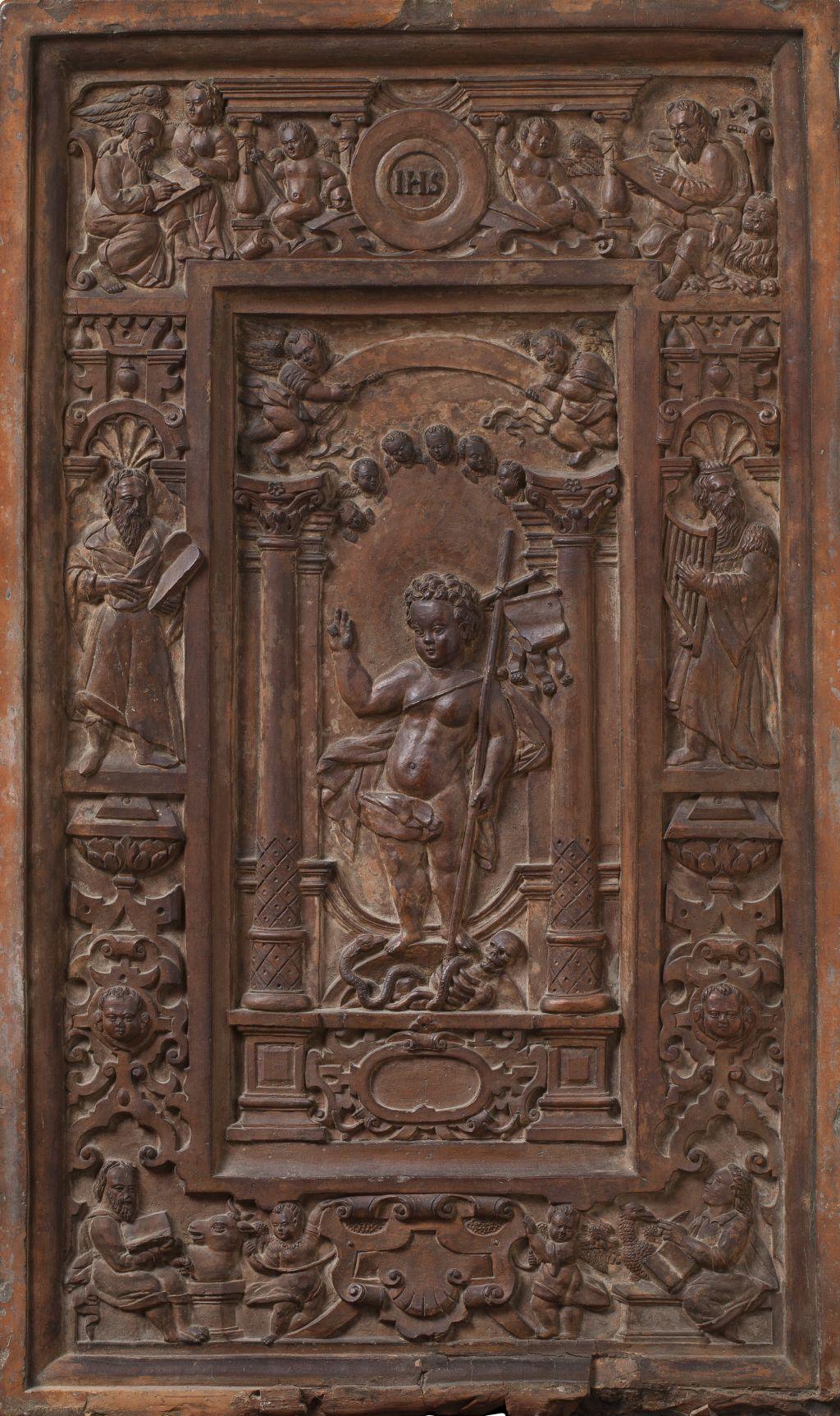 Placa: el Nen Jesús, Amberes
