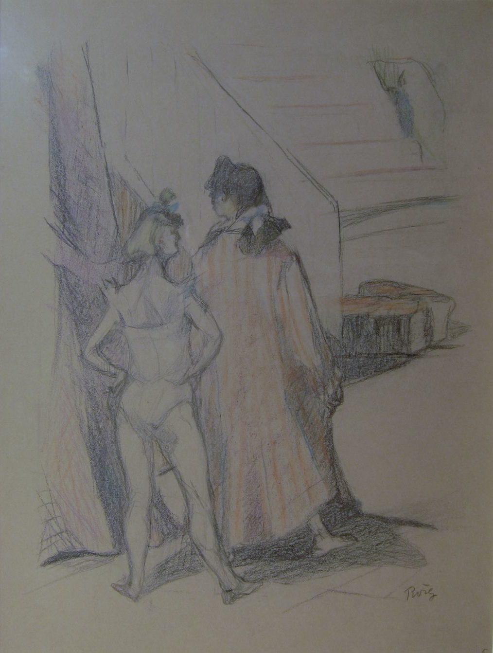 Dos jóvenes domadoras, Pau Roig