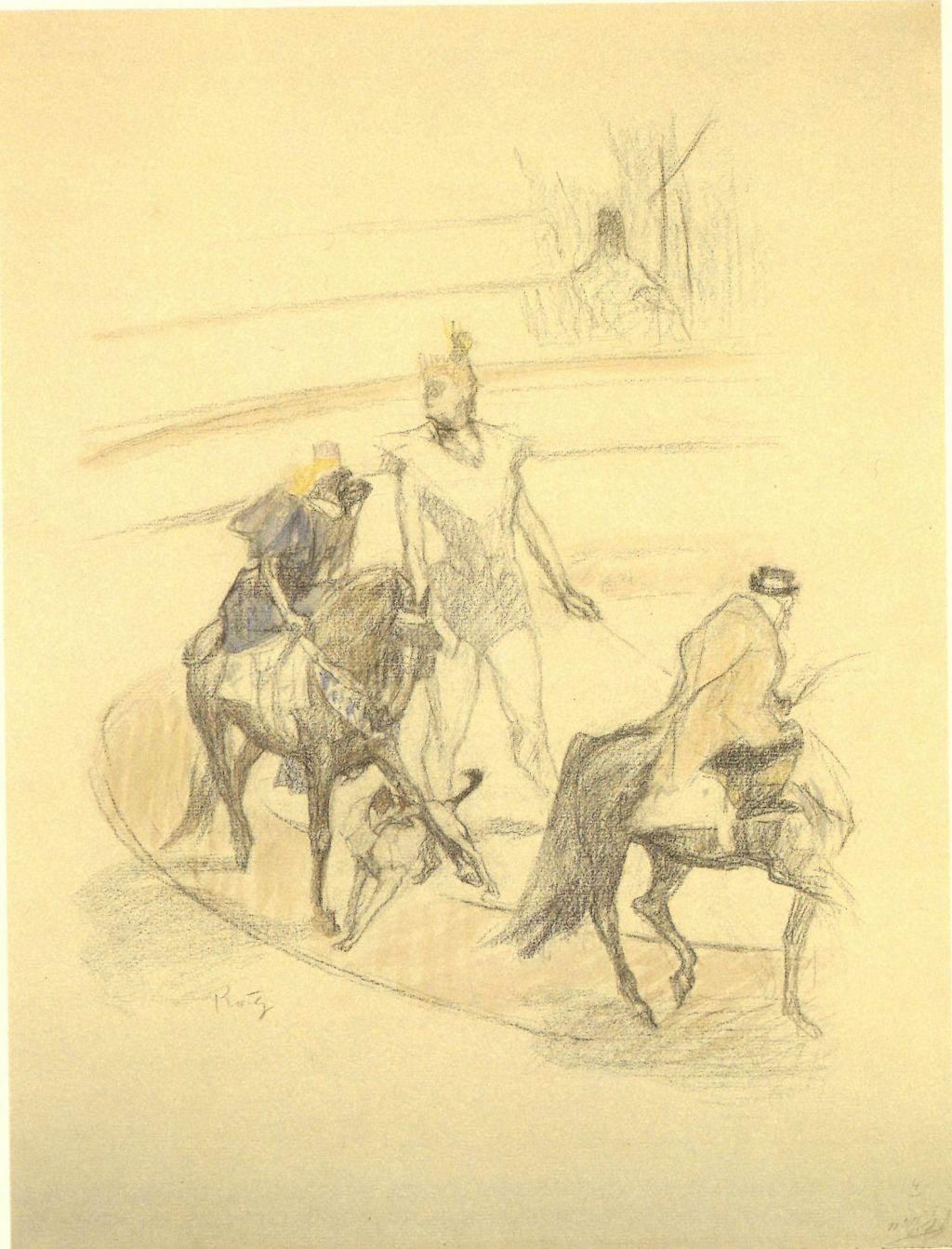 Domadora de cavalls i micos, Pau Roig