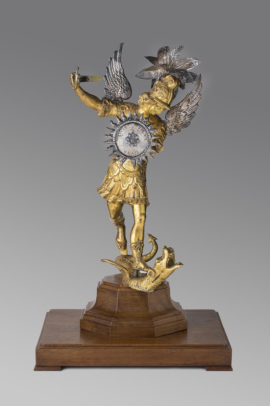 Sant Miquel Arcàngel, Cercle de Lorenzo Vaccaro (escultor) i Giovan Domenico Vinaccia (argenter)