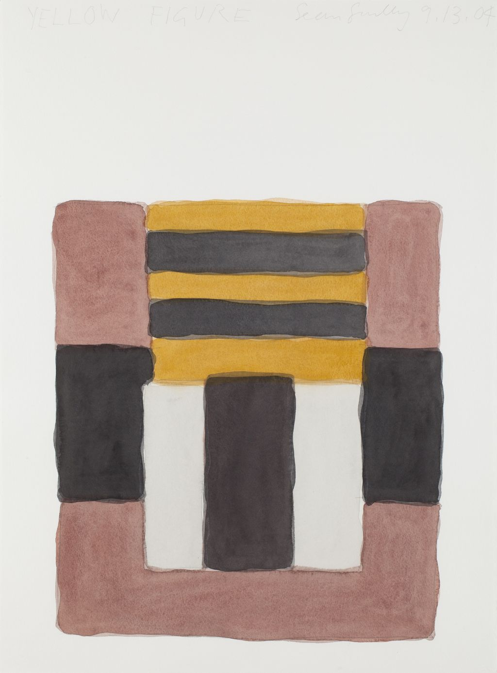 Yellow Figure, Sean Scully