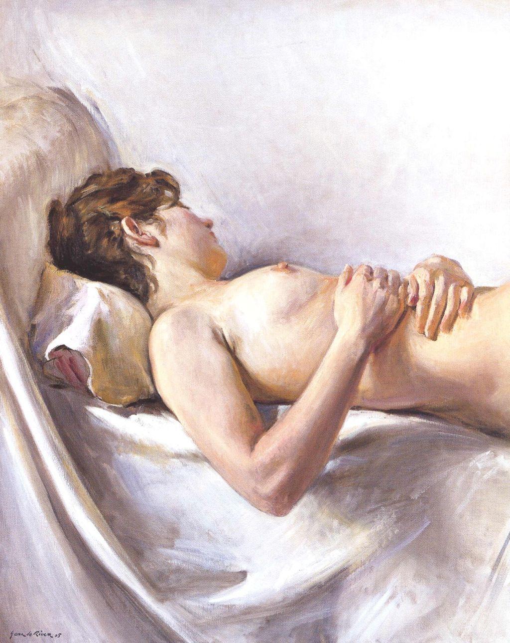 Nu adormit, Xavier Serra de Rivera