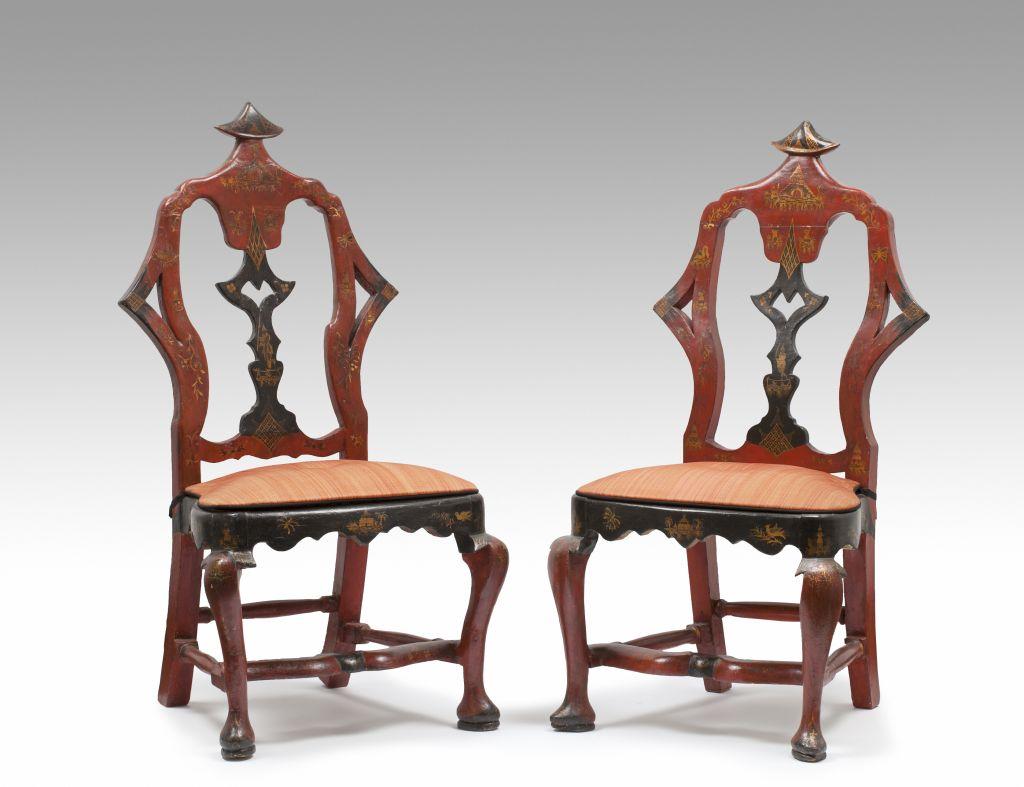 Conjunt de sofà i sis cadires,