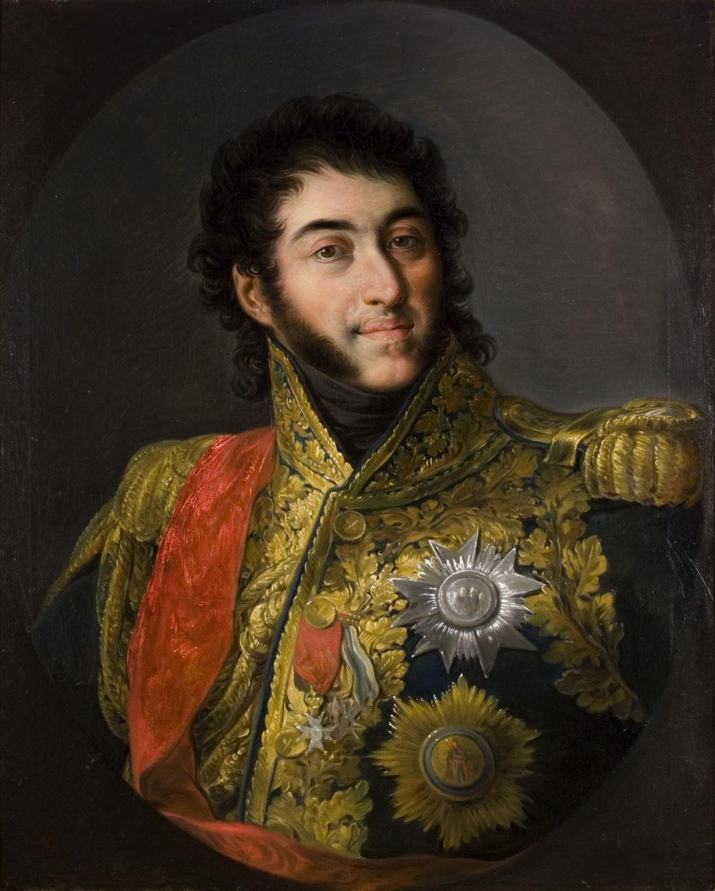 Portrait of Marshal Louis Gabriel Suchet, Duke of Albufera, Vicente López