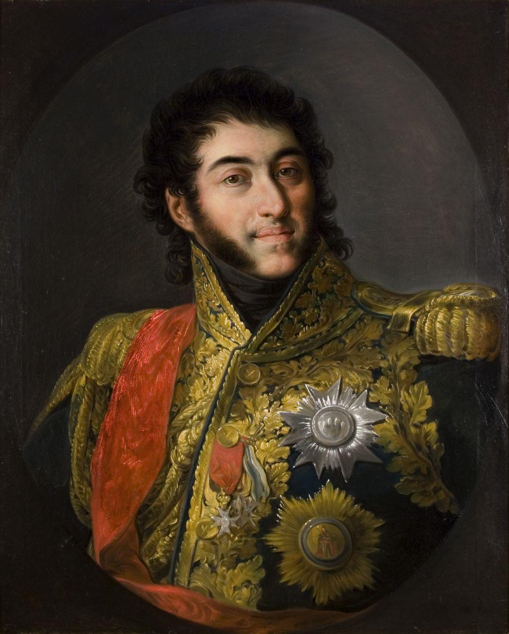 Retrat del mariscal Louis Gabriel Suchet, duc d'Albufera, Vicente López