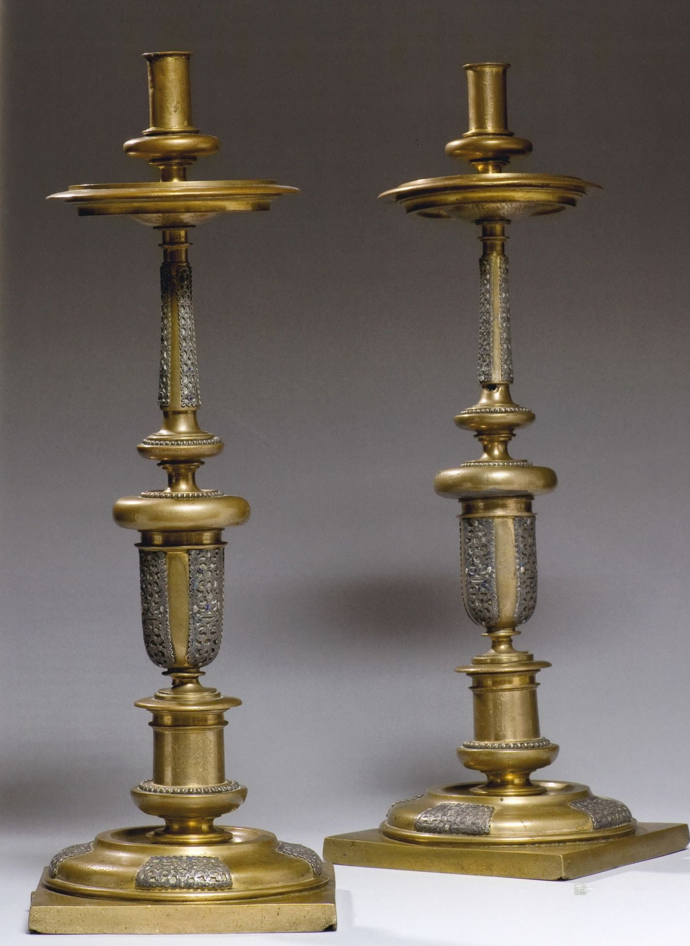 Pair of candlesticks, Spain