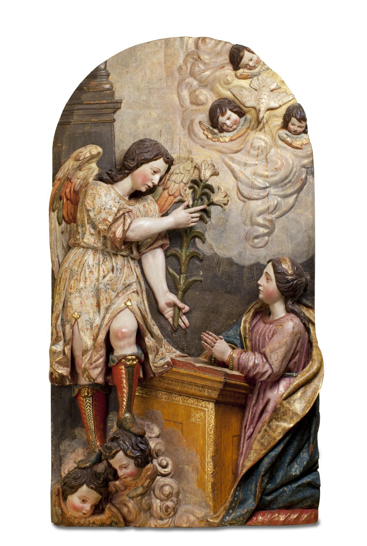 Anunciació de la Verge, Felipe de Ribas