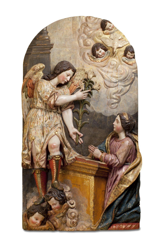 Annunciation, Felipe de Ribas