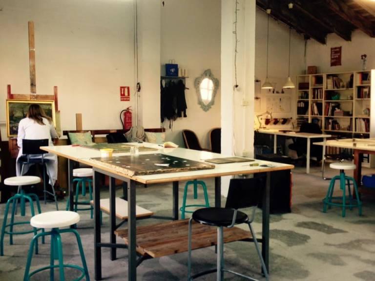 El arte y sus oficios. En el taller de restauración