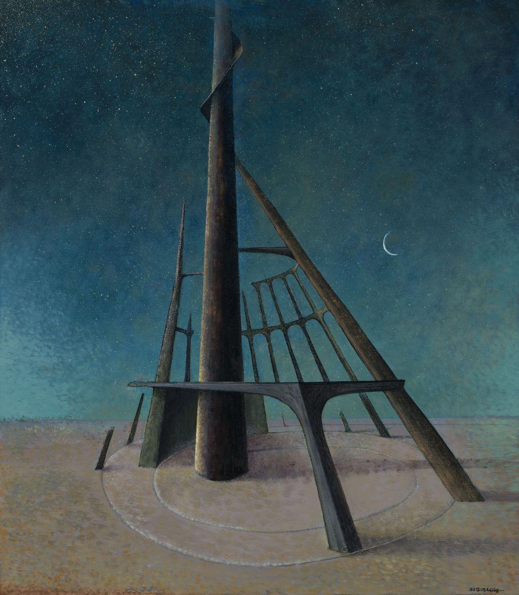 Espiral Pintura - Subirachs   Galeria en Barcelona - Artur Ramón