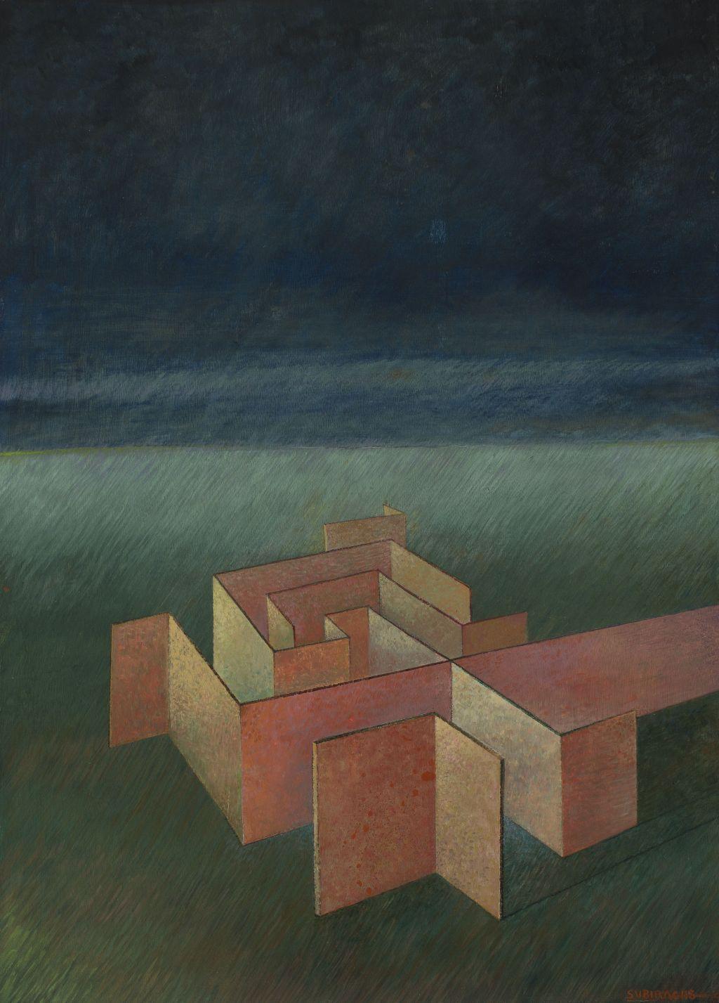 Inicio de laberinto, Josep Maria Subirachs