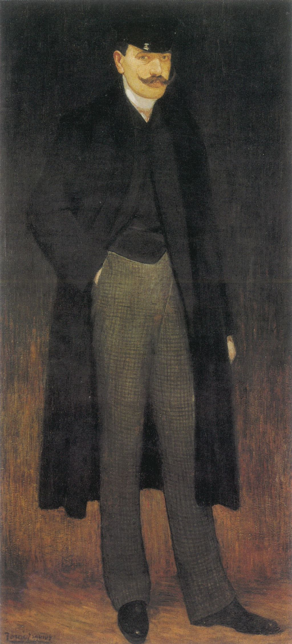 Self-portrait, Pere Torné Esquius