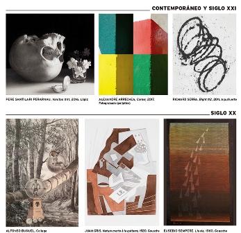 Gabinete, la Feria del dibujo y de la estampa celebra su II edición en la Real Academia de Bellas Artes