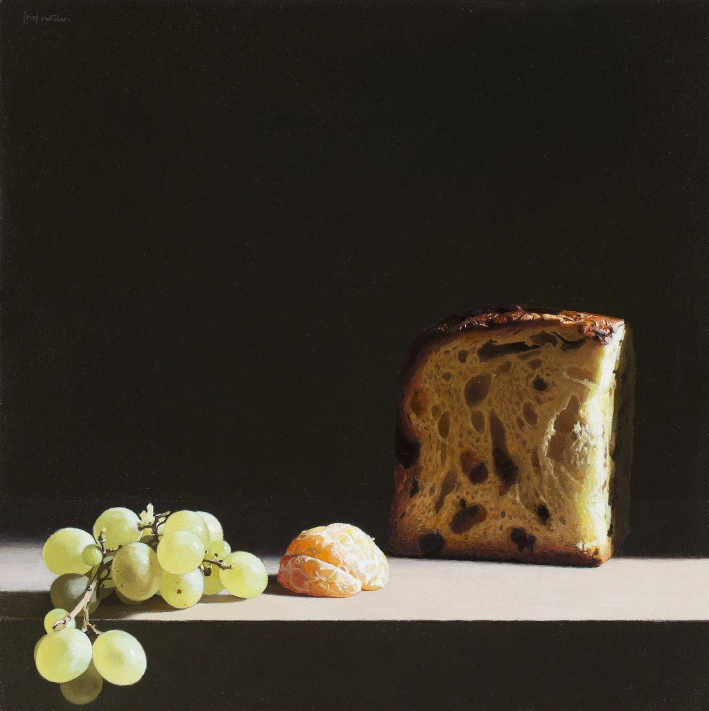 Panettone, raïm i mandarina, Josep Santilari