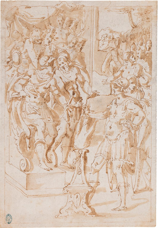 L'ordalia del foc de Muci Escevola, Giovanni Guerra