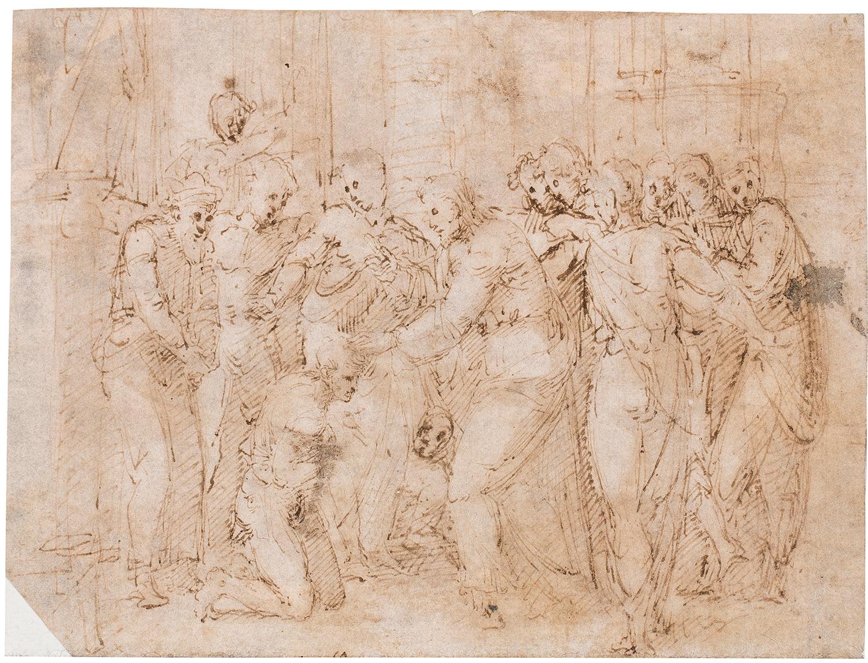 Figures, Giulio Campi