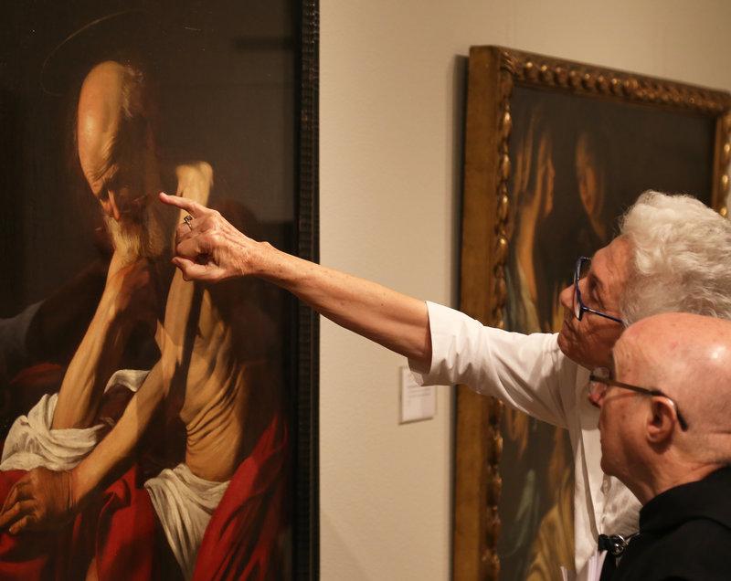 Caravaggio, 'work in progress'