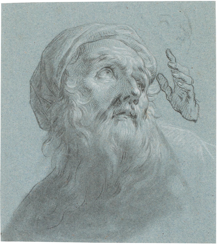 Estudi per rostre i mans de Sant Joaquim, Zacarías González Velázquez
