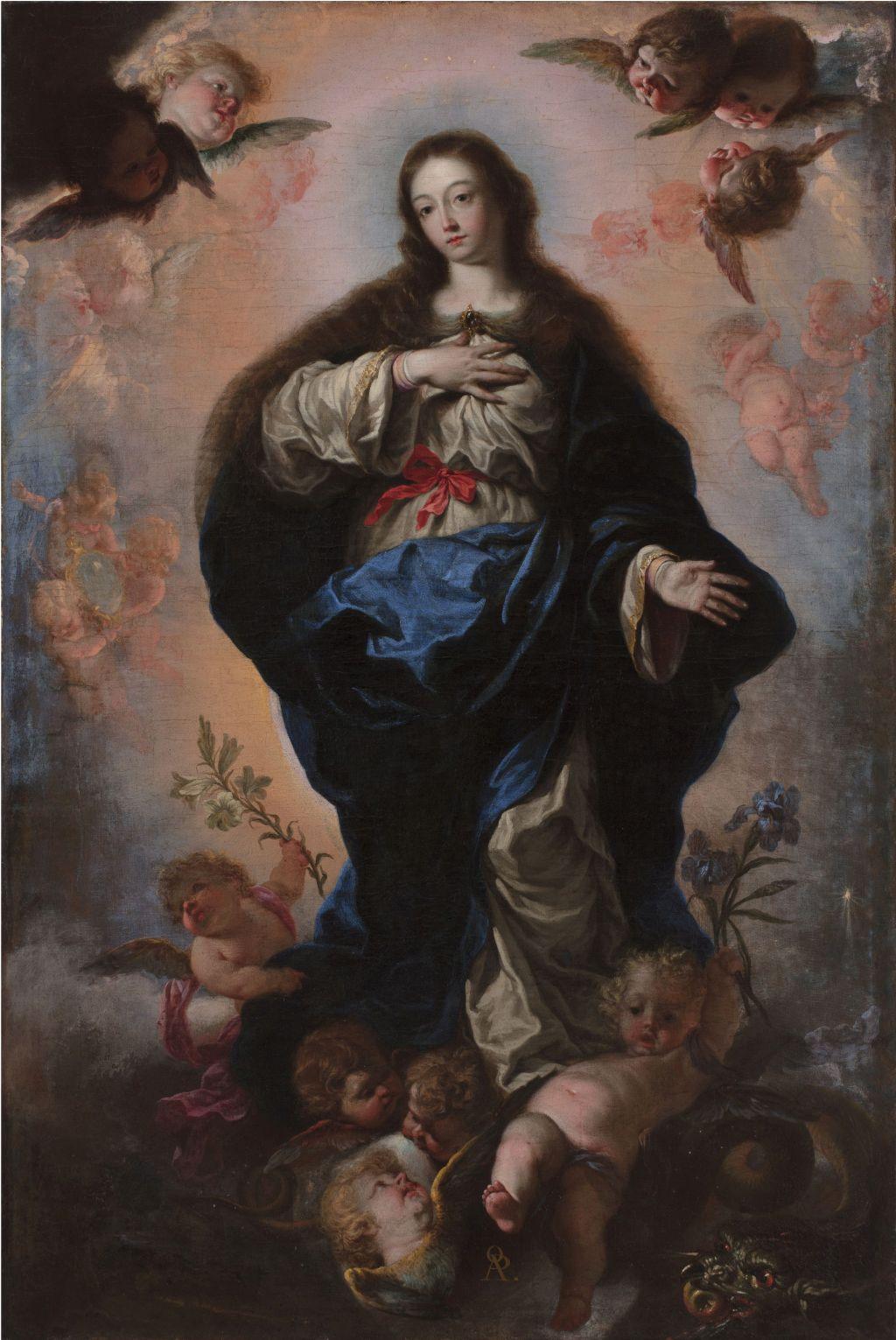 Palomino, Immaculada Concepció, Antonio Palomino y Velasco