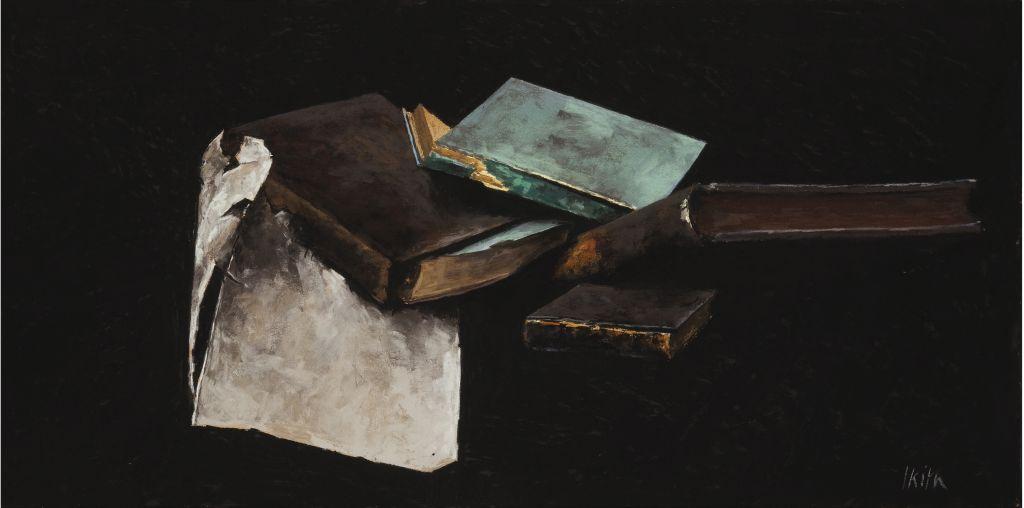 Pierre Skira, Nature morte aux livres