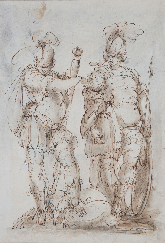 Sant Teodor Stratelates i sant Jordi, Claude Déruet