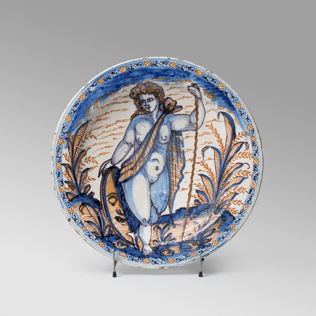 Great plate of the Tricolor series, Talavera