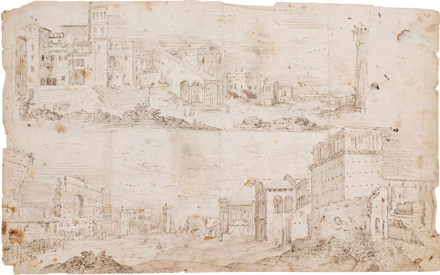 Anonymous Flemish, View of the Campo Lateranense in Rome