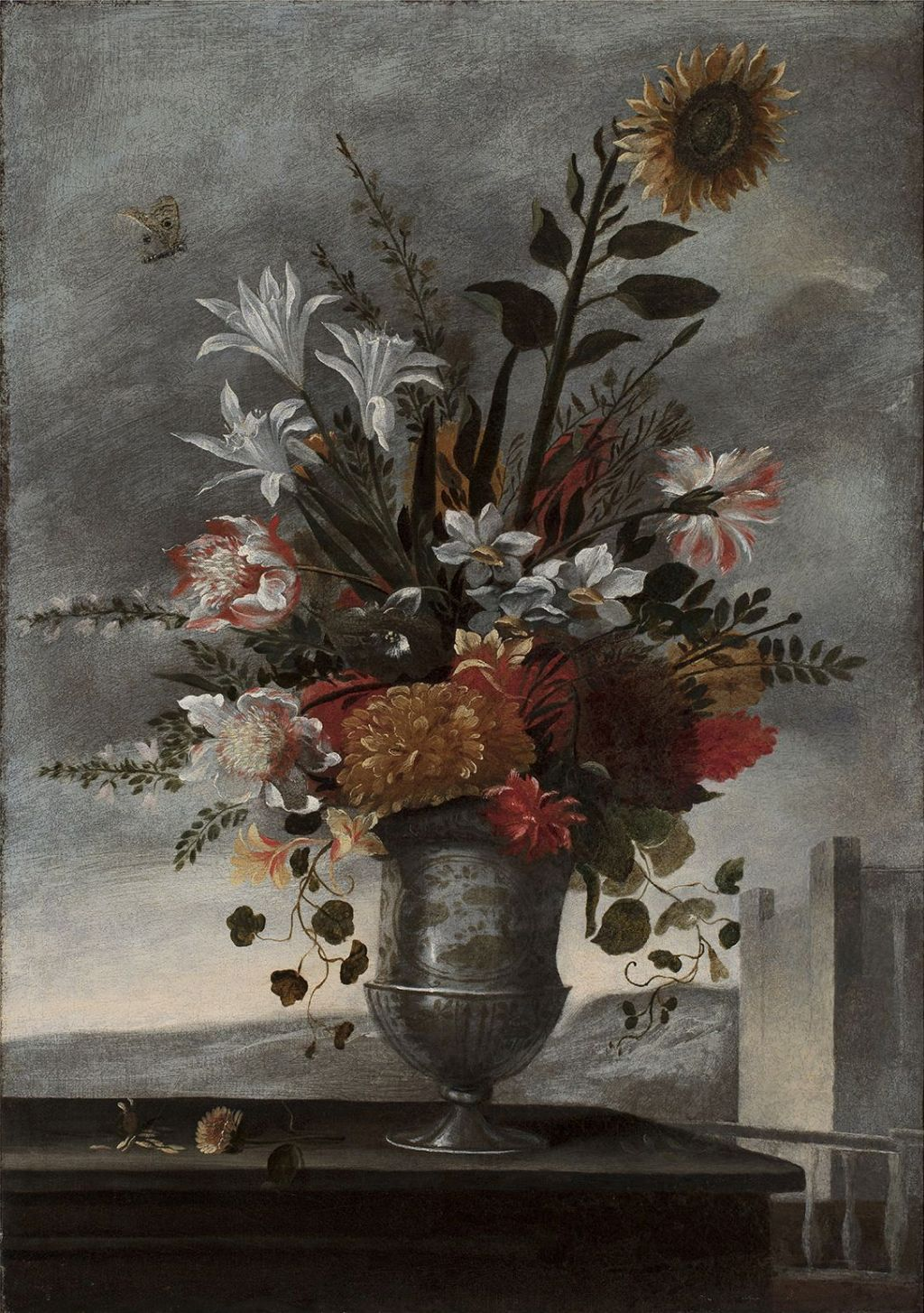 Parella de florers, Pedro de Camprobín