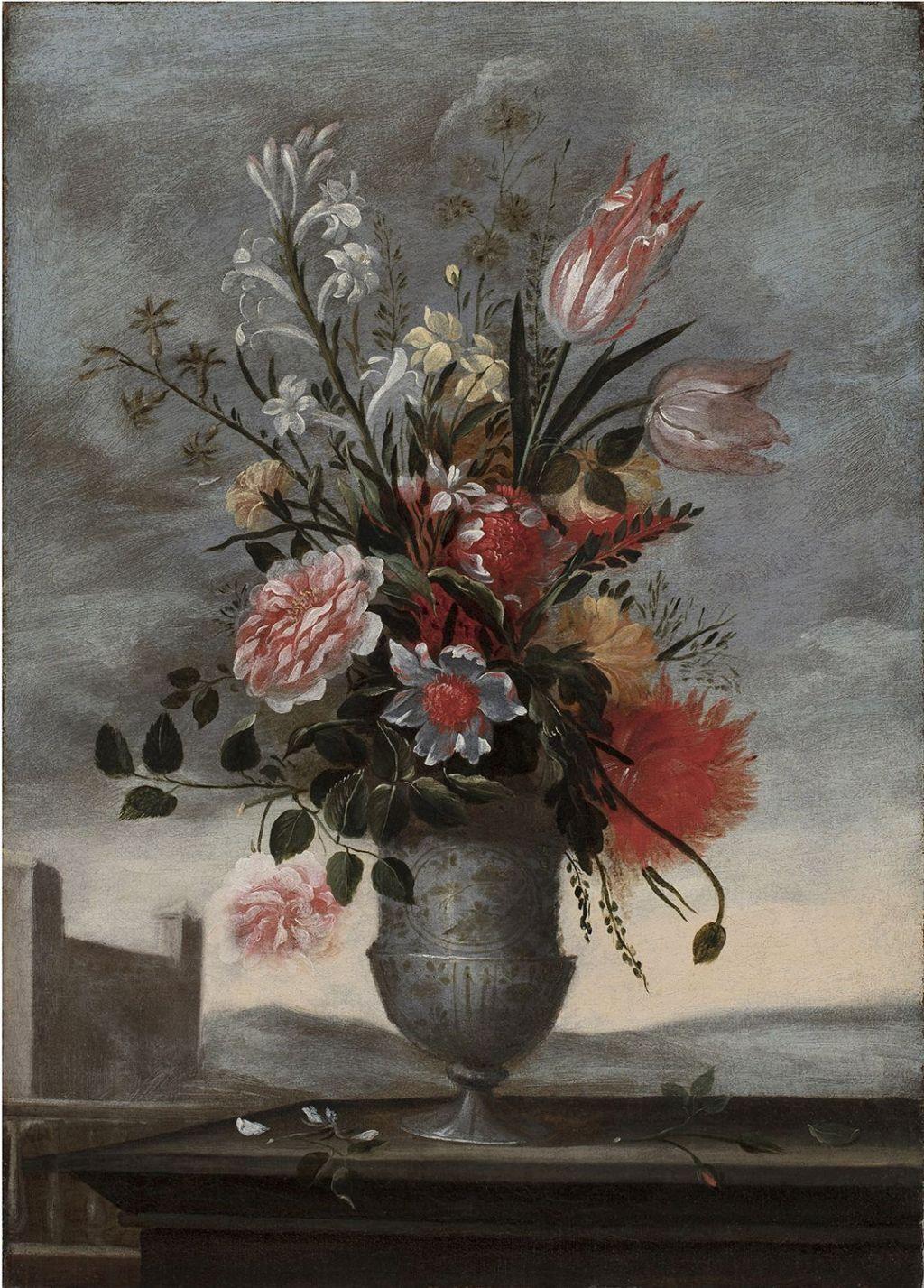 Pedro de Camprobín - Parella de florers