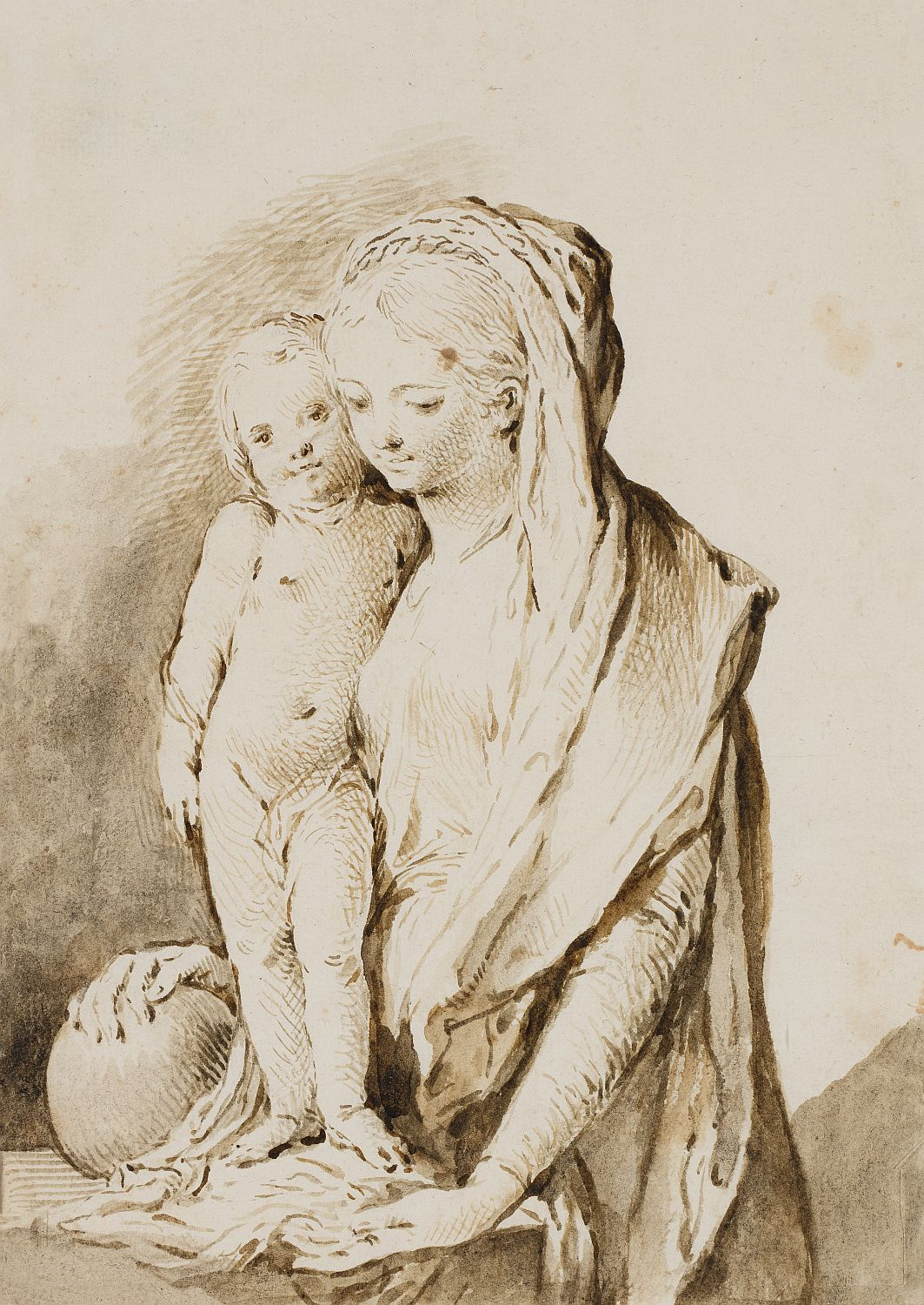 Virgin with Child, José Camarón Bonanat