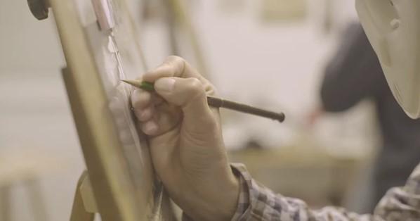 Santilari: Lección sobre el arte de dibujar