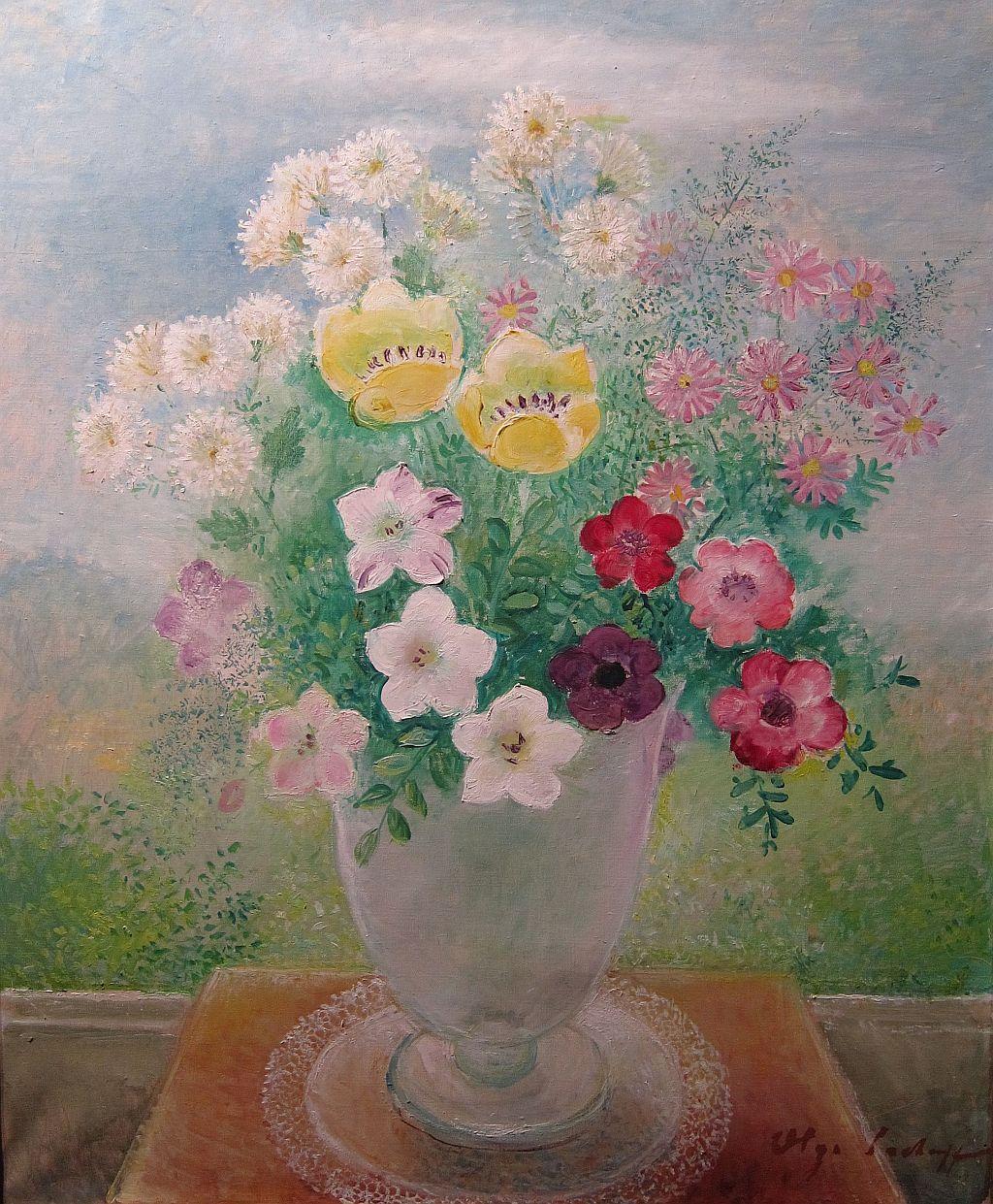 Olga Sacharoff, Flores