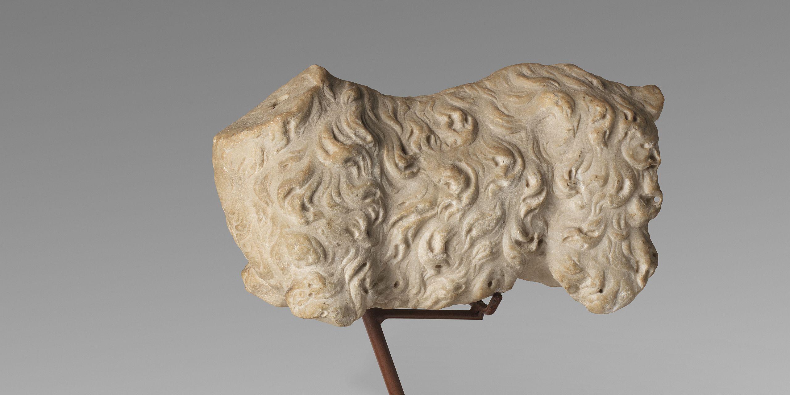 Escultura romana, cabra
