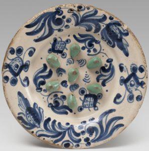 Ceramica catalana, Plato del engaño