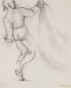 Manolo-Hugue-drawing-bullfighter