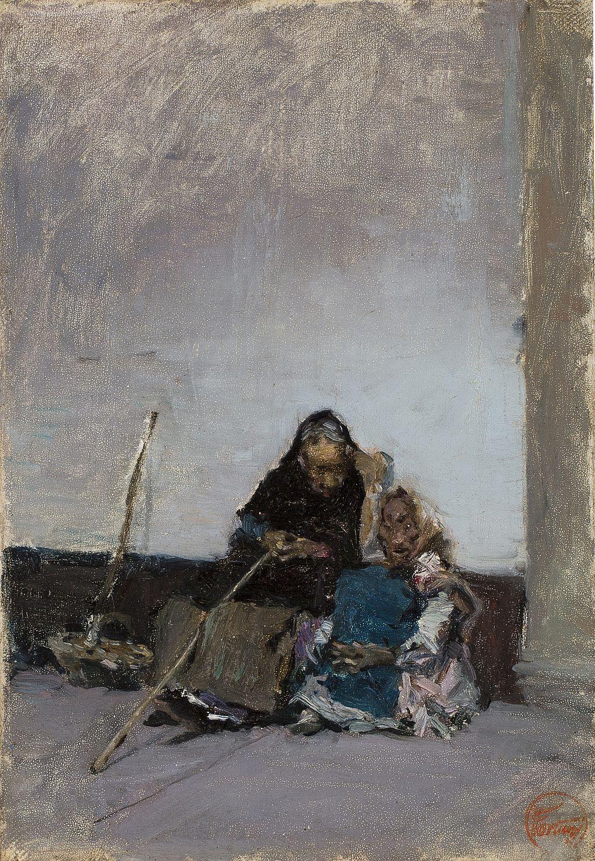 Mariano Fortuny, Méndiants