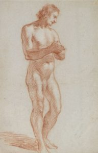 Palomino, Estudio de desnudo