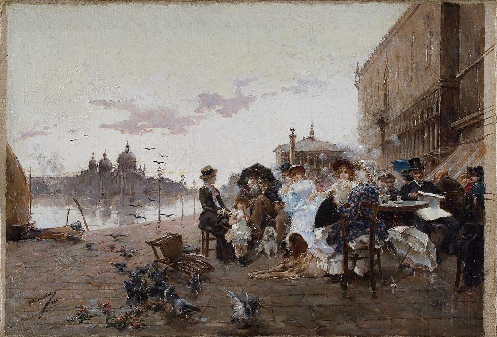 Manuel Ramírez Ibáñez, Dones elegants a Venècia