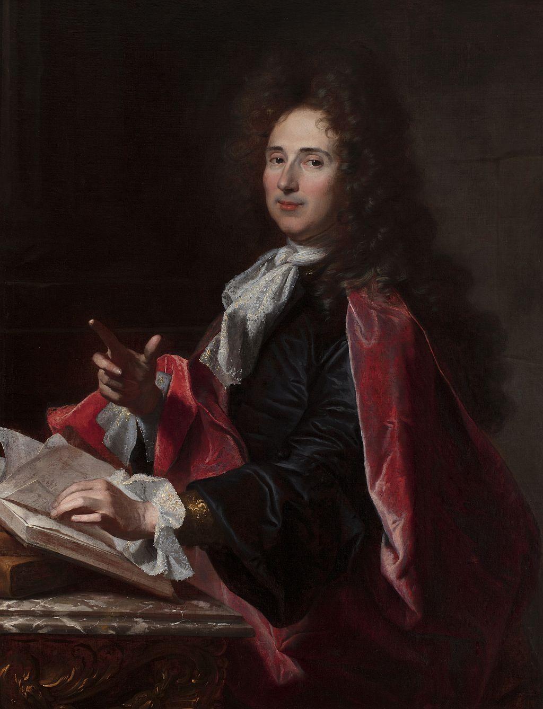 Portrait du chirurgien Alexandre Passerat, Hyacinthe Rigaud