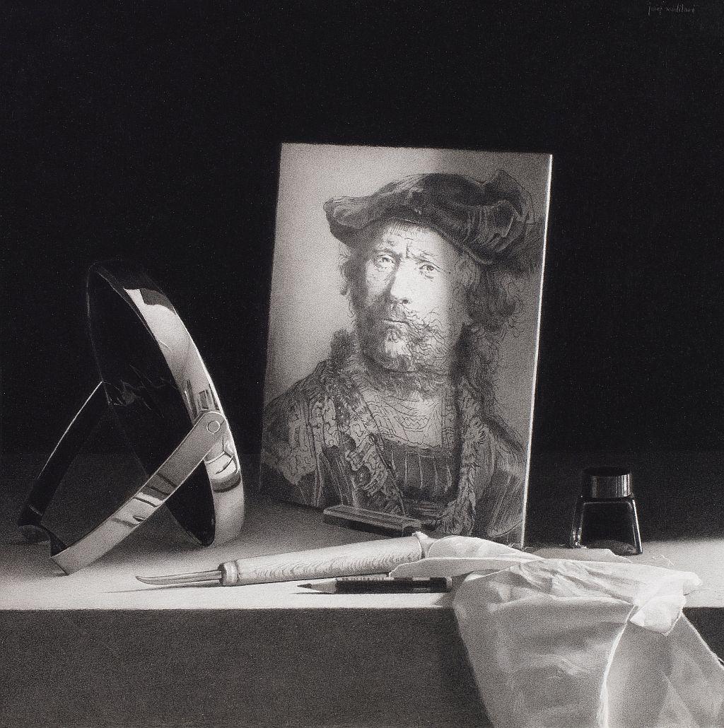 Josep Santilari, Self-portrait