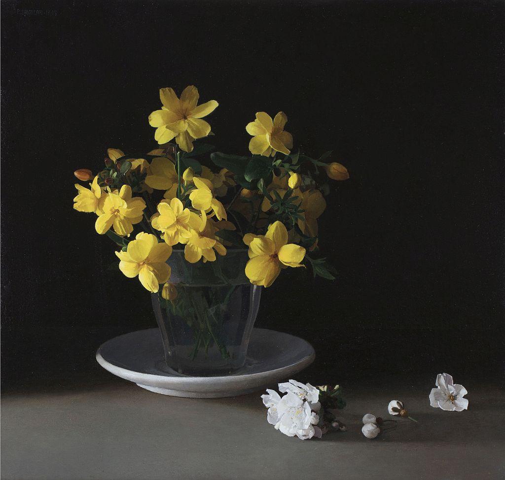 Pere Santilari, Vaso con flores I