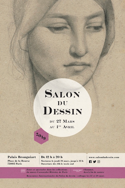 Salon du Dessin to put the spotlight on drawings 27th March – 1st April in Paris