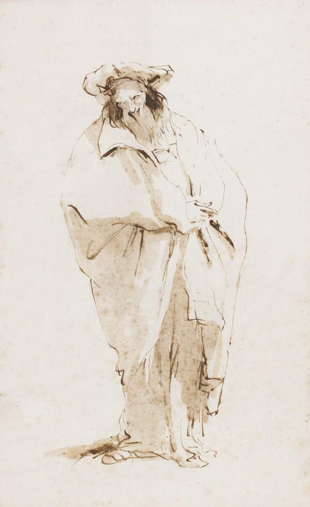 Oriental barbut, Giovanni Battista Tiepolo