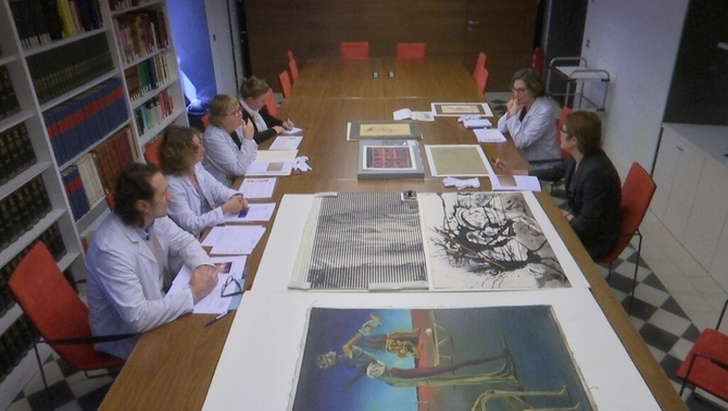 25 anys autentificant Dalí: així treballa la comissió per catalogar l'obra del pintor