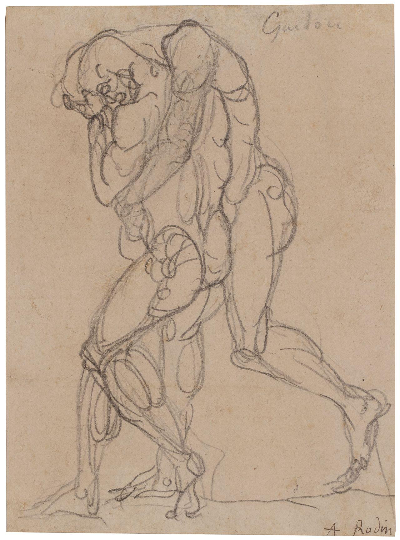 Auguste Rodin, Guidon