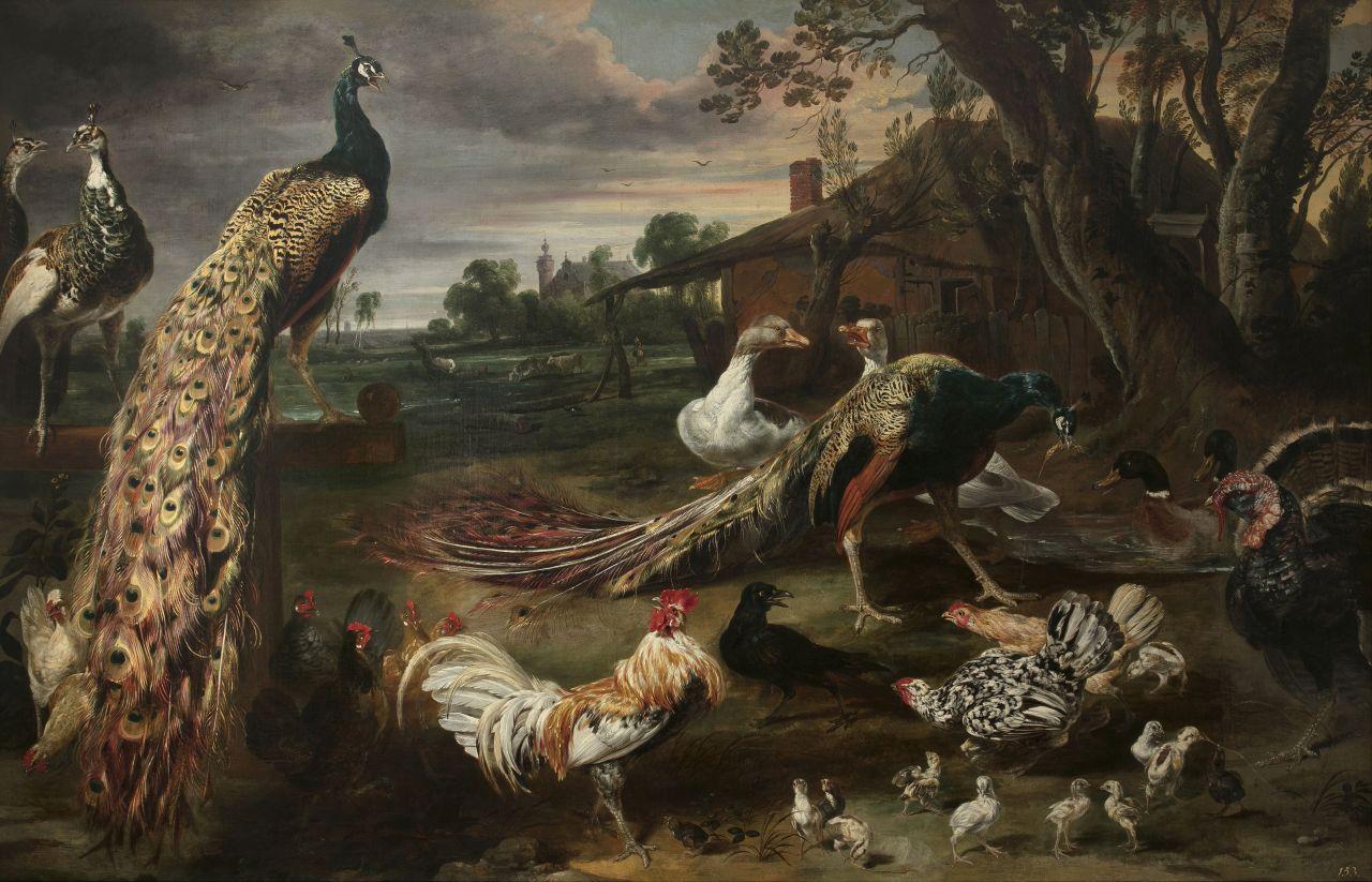 Paul de Vos, Ocells